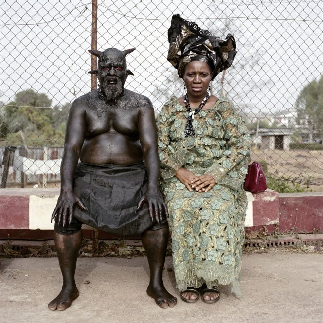 Pieter Hugo. 'Chris Nkulo and Patience Umeh. Enugu, Nigeria' 2008