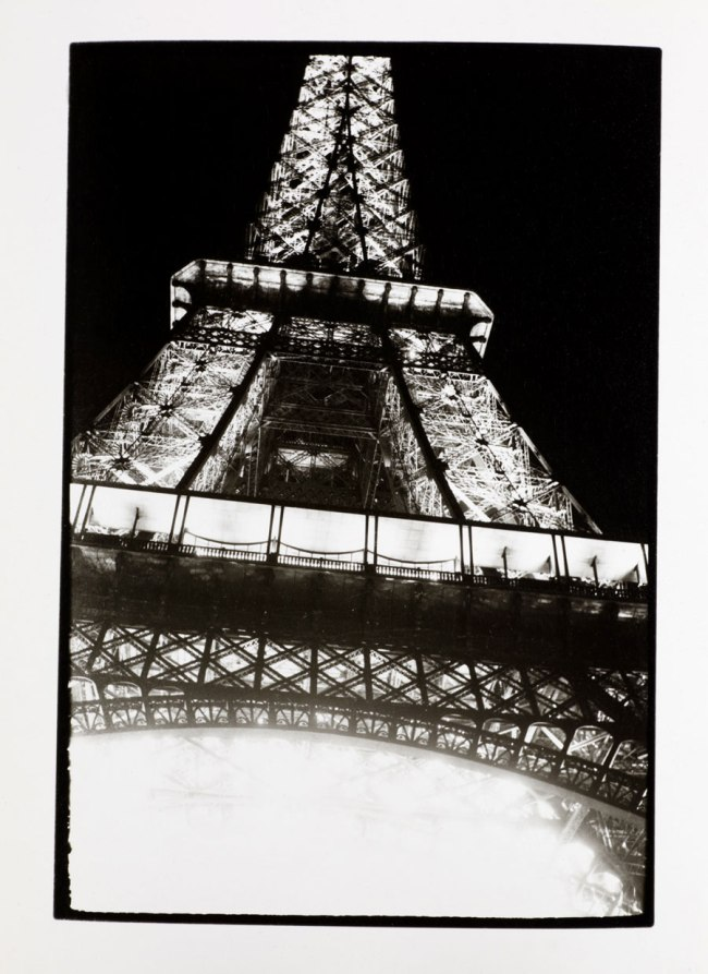 Otto Wols (Alfred Otto Wolfgang Schulze) (German, 1913-1951)  'Untitled (Paris - Eiffel Tower)' 1937