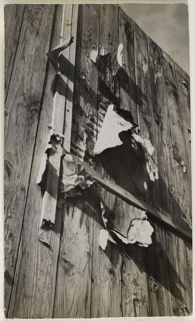 Otto Wols (Alfred Otto Wolfgang Schulze) (Berlin 1913 - 1951 Paris) Untitled (Paris - Palisade) 'Fall 1932 - October 1933 / January 1935 - August 1939' 1930
