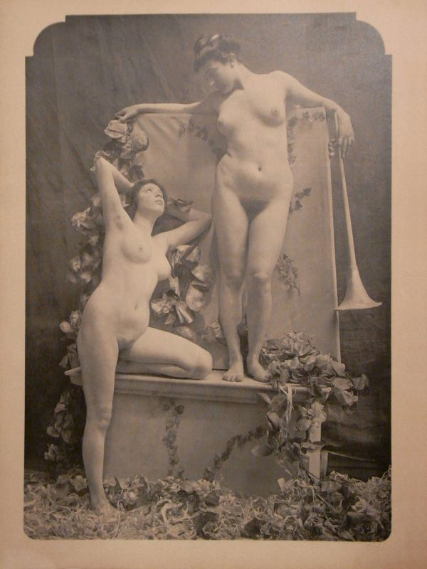Emile Bayard. 'The Aesthetic Nude No. 34' 1903
