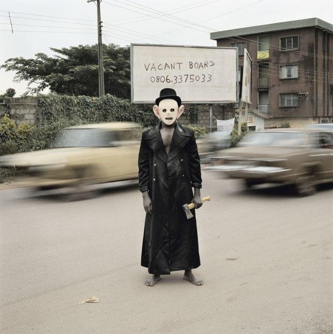 Pieter Hugo. 'Escort Kama. Enugu, Nigeria' 2008