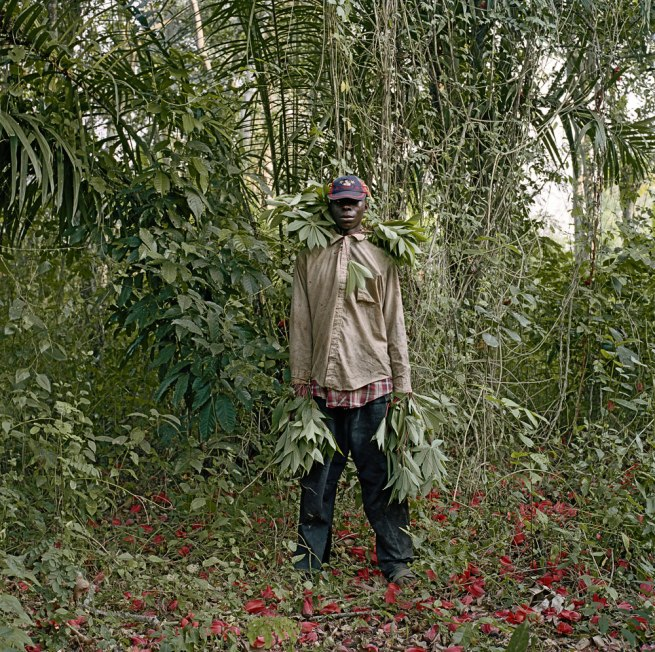 Pieter Hugo. 'John Kwesi, Wild Honey Collector, Techiman District, Ghana' 2005