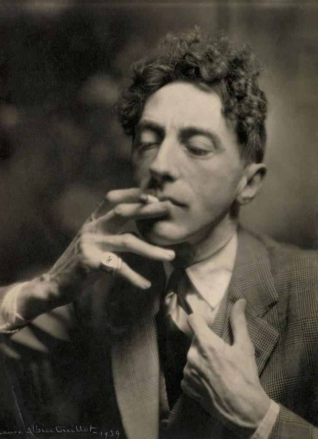 Laure Albin Guillot (1879-1962) 'Jean Cocteau' 1939