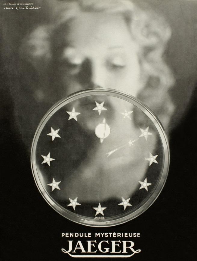 Laure Albin Guillot (1879-1962) 'Advertisement for the Manufacture Jaeger-LeCoultre' c. 1940