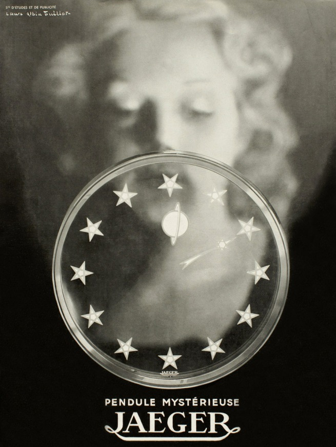 Laure Albin Guillot (1879-1962) 'Advertisement for the Manufacture Jaeger-LeCoultre' c. 1940