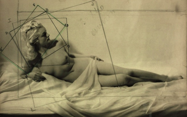 Laure Albin Guillot (1879-1962) 'Nude Study' c. 1940