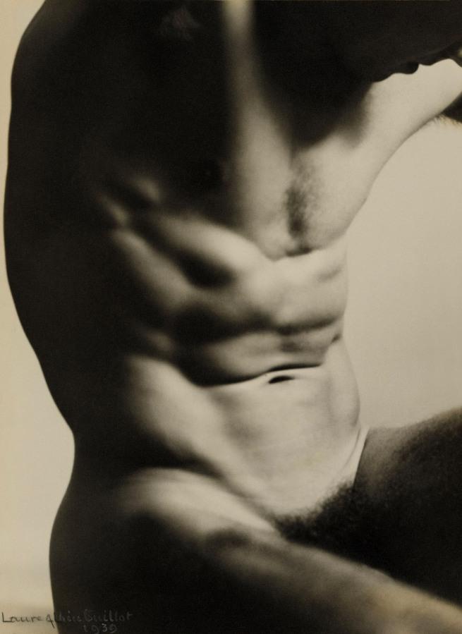 Laure Albin Guillot (1879-1962) 'Nude Study' 1939