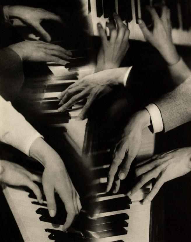 Laure Albin Guillot (1879-1962) 'Les tierces alternées', illustration for 'Les préludes de Claude Debussy' 1948