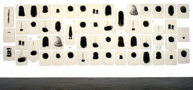 Lorna Simpson. 'Wigs II' 1994-2006