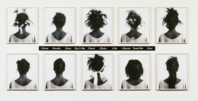 Lorna Simpson. 'Stereo Styles [Styles stéréo]' 1988