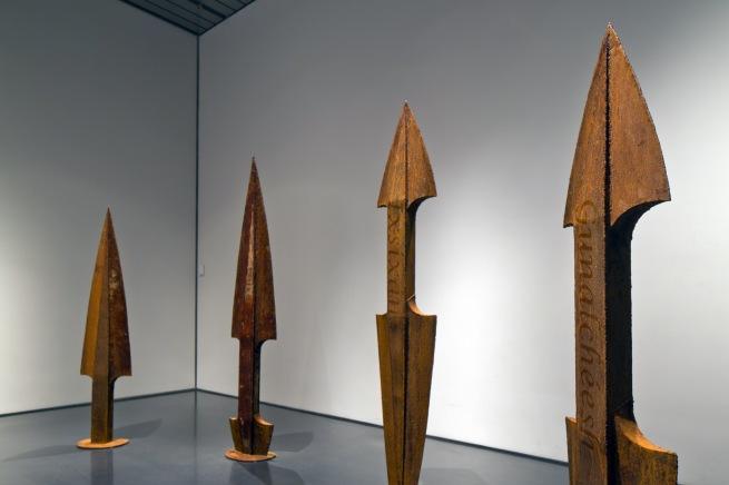 Da-ka-xeen Mehner. 'Finding My Song Weapons' 2012 (detail)