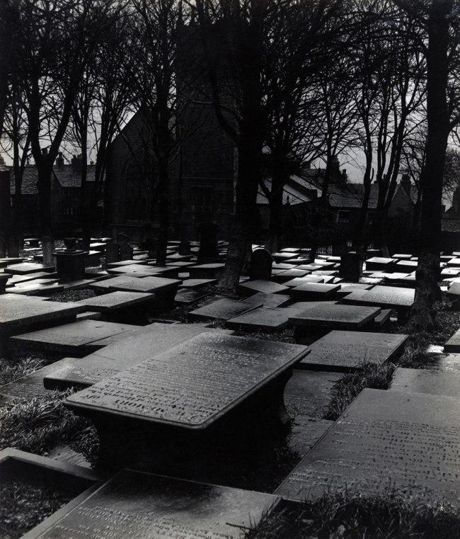 Bill Brandt (British, born Germany. 1904-1983) 'Haworth Churchyard' 1945