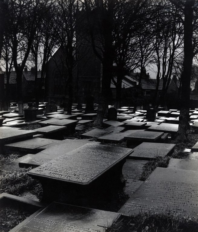 Bill Brandt (British, born Germany. 1904-1983) 'Haworth Churchyard' 1945