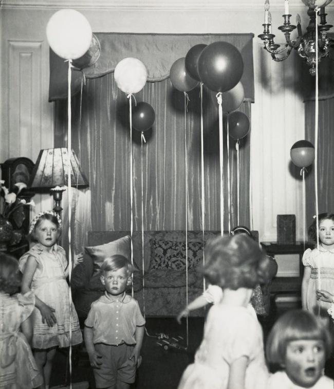 Bill Brandt (British, born Germany. 1904-1983) 'Kensington Children's Party' c. 1934