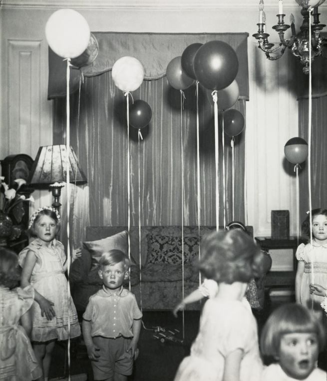 Bill Brandt (British, born Germany. 1904-1983) 'Kensington Children's Party' c. 1934