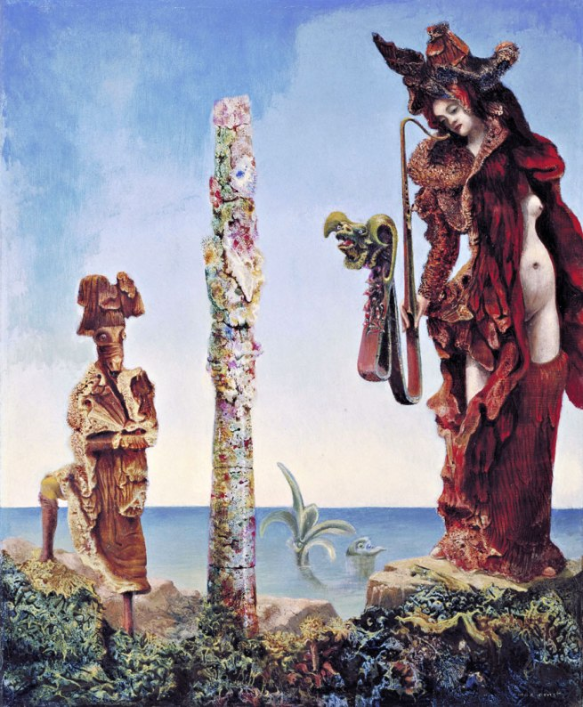 Max Ernst. 'Napoleon in the Wilderness' 1941