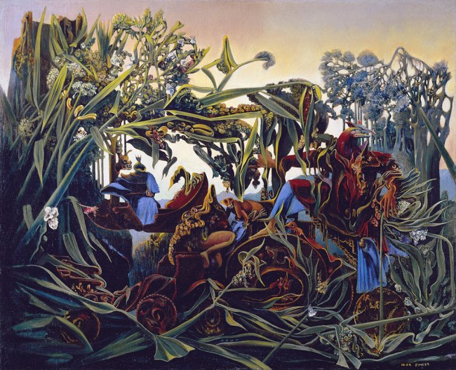 Max Ernst. Nature at Dawn (Evensong) La nature à l'aurore (Chant du soir) 1938