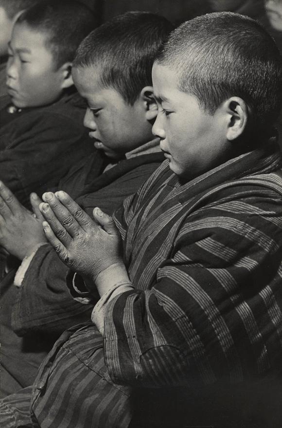 Hiroshi Hamaya (Japanese, 1915 - 1999) 'New Year's Ritual, Niigata Prefecture' 1940-1946