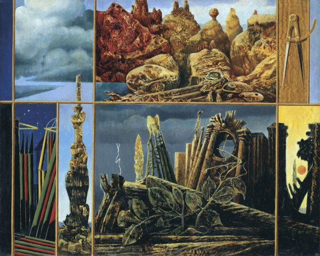 Max Ernst. 'Painting for Young People' 1943
