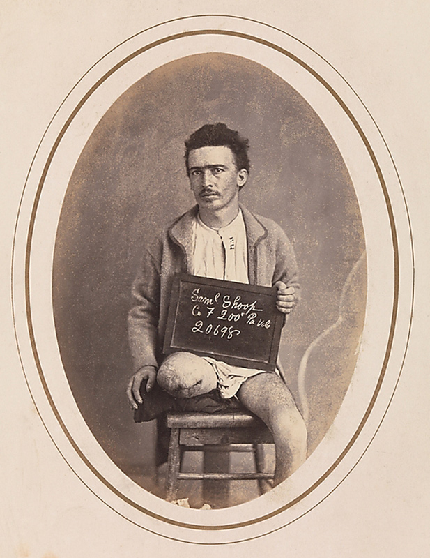 Reed Brockway Bontecou (American, 1824-1907) 'Private Samuel Shoop, Company F, 200th Pennsylvania Infantry' April-May 1865