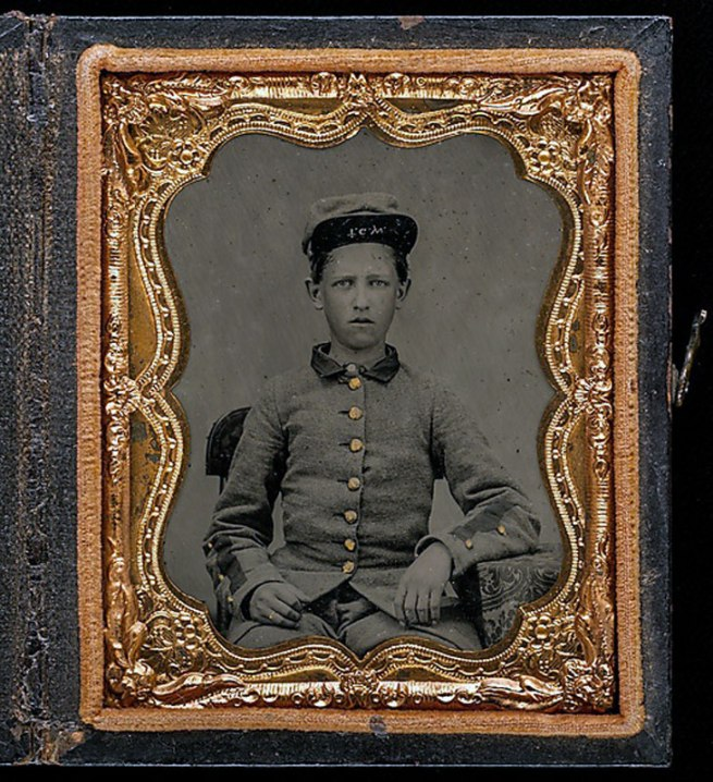 "Unknown. '[Private Thomas Gaston Wood, Drummer, Company H, ""Walton Infantry,"" Eleventh Regiment Georgia Volunteer Infantry]' 1861"