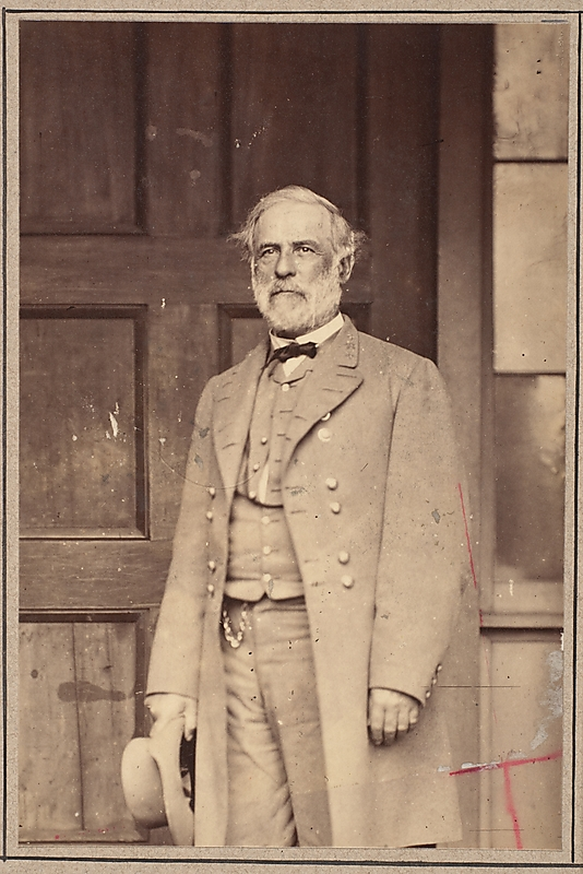 Mathew B. Brady (American, near Lake George, New York 1823?–1896 New York) 'General Robert E. Lee' 1865