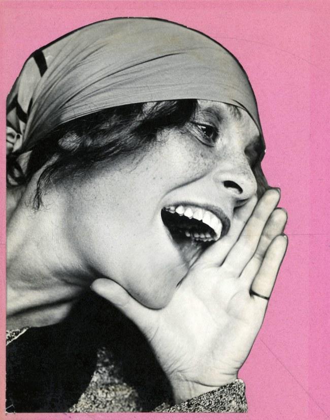 """Alexander Rodchenko. 'Lilya Brik. Portrait of the advertising poster """"Knigi""""' 1924"""