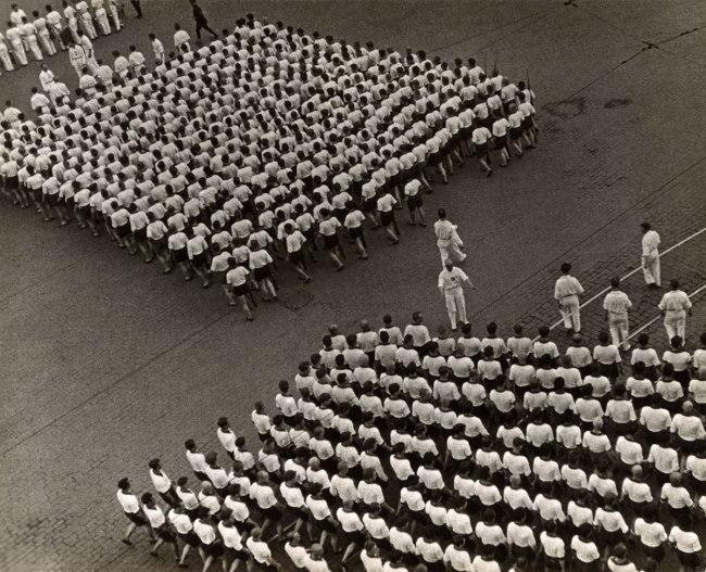 Alexander Rodchenko. 'Marching column of the Dynamo Sports Club' 1932
