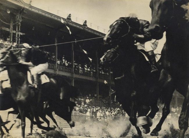 Alexander Rodchenko. 'Horse racing' 1935