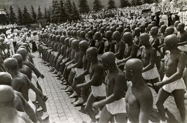 Alexander Rodchenko. 'Sportsmen on Red Square' 1935