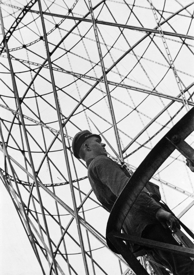 Alexander Rodchenko. 'Guard at the Shukhov Tower' 1929