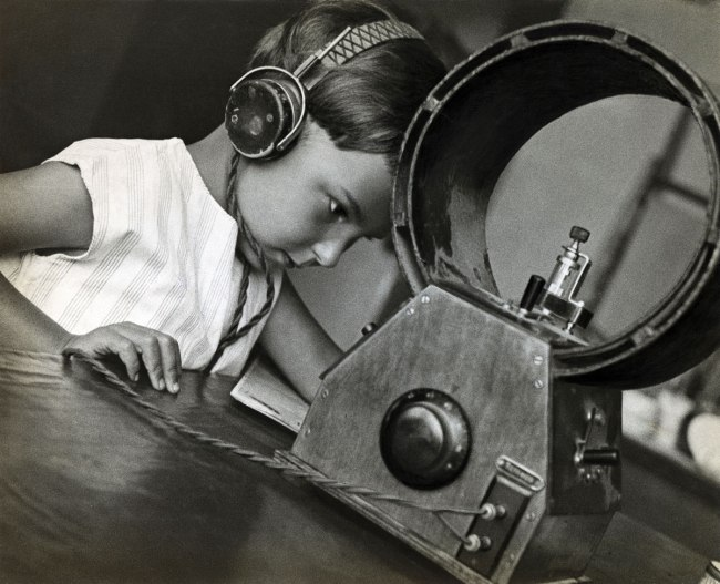 Alexander Rodchenko. 'Radio listeners' 1929