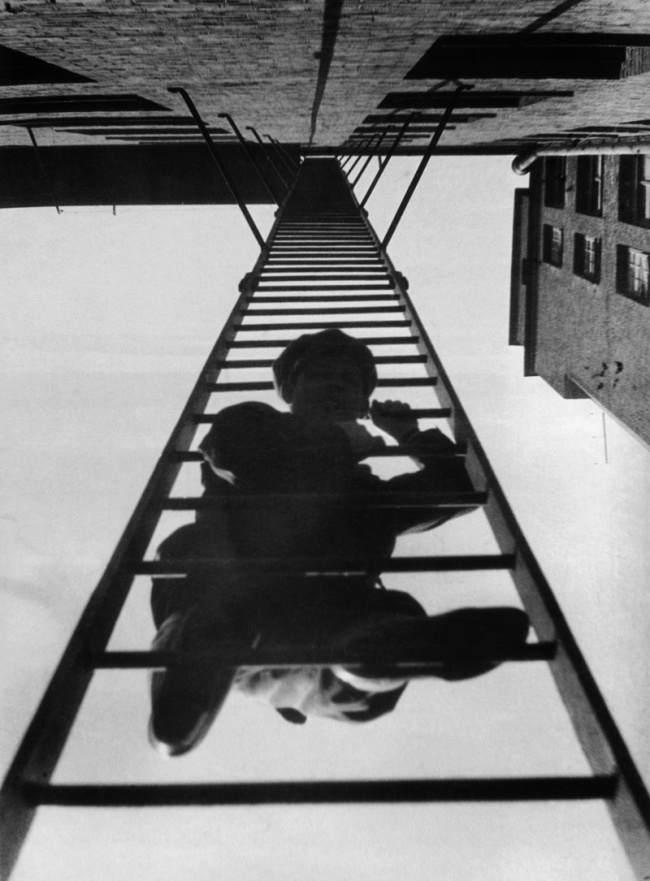 Alexander Rodchenko. 'Fire escape' 1925