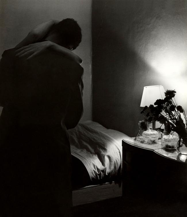 Bill Brandt (British, born Germany. 1904-1983) 'Soho Bedroom' 1934