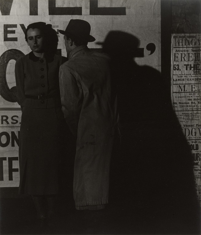 Bill Brandt (British, born Germany. 1904-1983) 'Street Scene, London' 1936