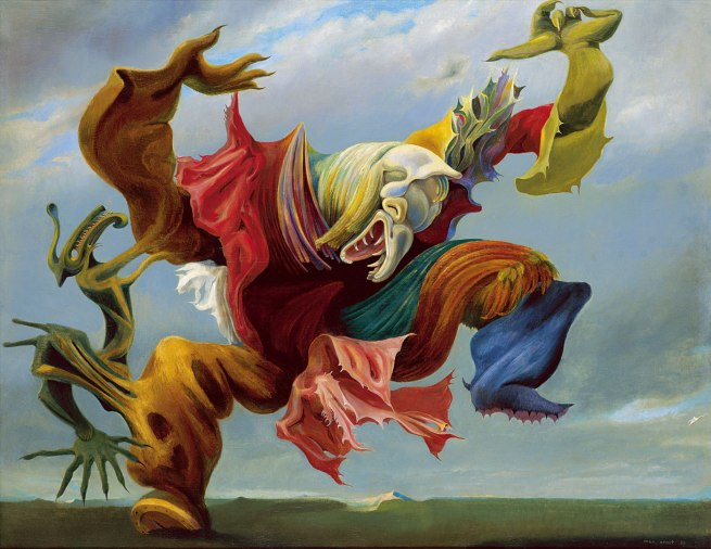 Max Ernst. 'The Fireside Angel (The Triumph of Surrealism)' 1937