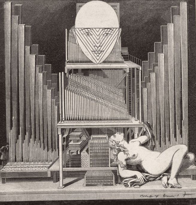 Max Ernst. The Immaculate Conception L'immaculée conception 1929
