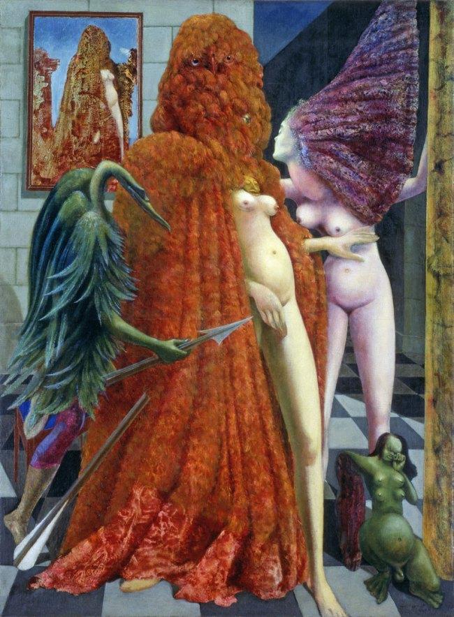 Max Ernst. The Robing of the Bride L'habillement de l'épousée / de la mariée 1940