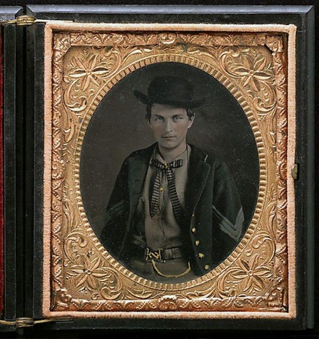 Unknown, American. 'Union Sergent John Emery' 1861-65