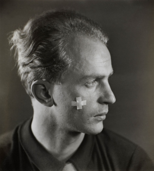 Otto Wols (Alfred Otto Wolfgang Schulze) (German, 1913-1951) 'Self Portrait' c. 1932-33