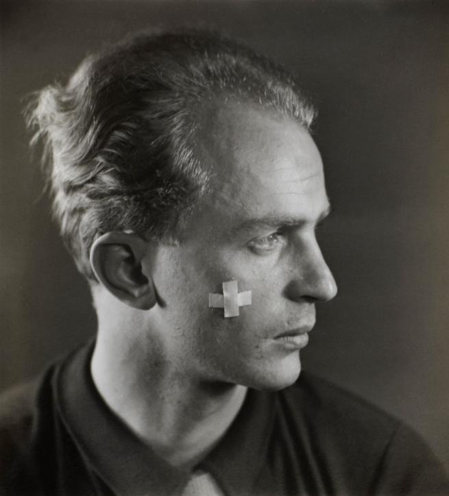 Otto Wols (Alfred Otto Wolfgang Schulze) (Berlin 1913 - 1951 Paris) 'Self Portrait' c. 1932-33
