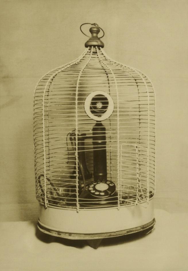 Kansuke Yamamoto (Japanese, 1914 - 1987) 'Buddhist Temple's Bird Cage' 1940