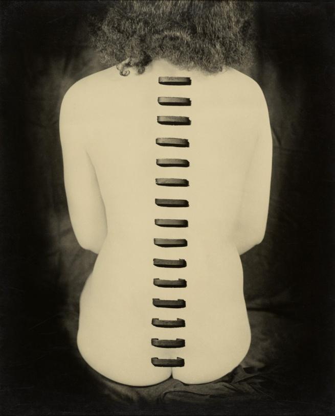 Kansuke Yamamoto (Japanese, 1914 - 1987) 'Stapled Flesh' 1949