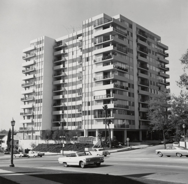 Ed Ruscha (American, born 1937) '10433 Wilshire Blvd.,' 1965