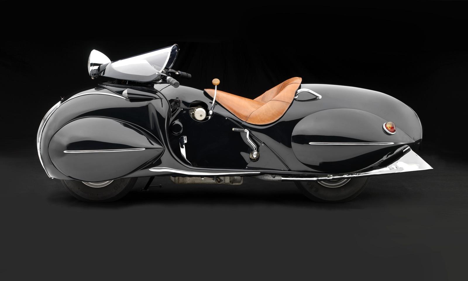 Exhibition Sensuous Steel Art Deco Automobiles At The