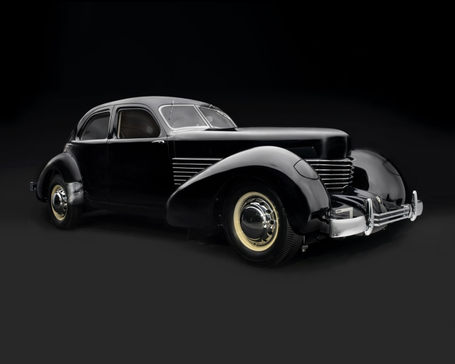 "'Cord 810 ""Armchair"" Beverly Sedan' 1936"
