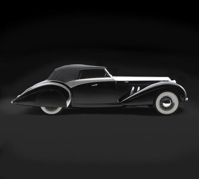 'Delage D8-120S Saoutchik Cabriolet' 1939