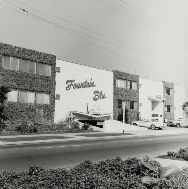 Ed Ruscha (American, born 1937) '6565 Fountain Ave.,' 1965