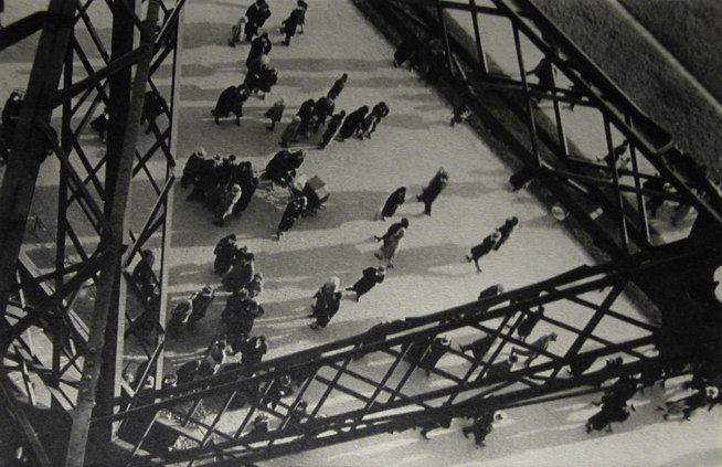 Ilse Bing (German, 1899-1998) 'Champ-de-Mars from the Eiffel Tower' 1931