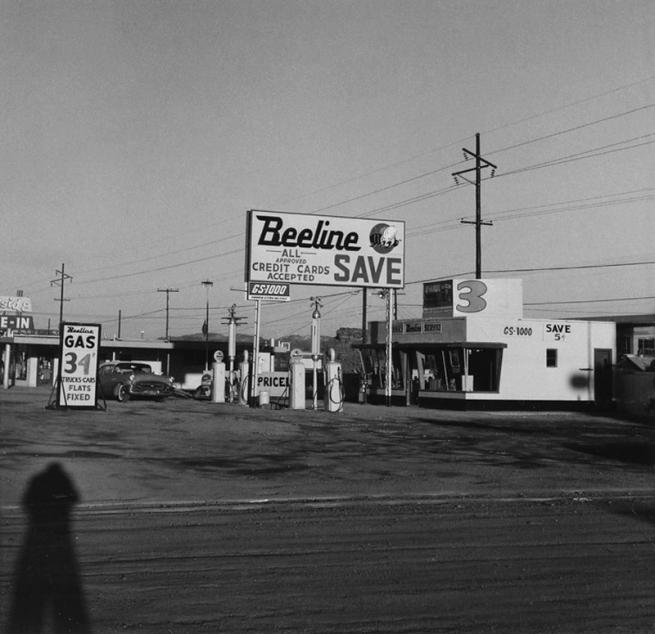 Ed Ruscha (American, born 1937) 'Beeline, Holbrook, Arizona' 1962